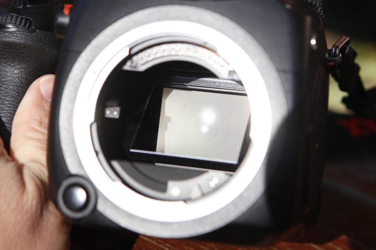 Le miroir du Pentax 645Z