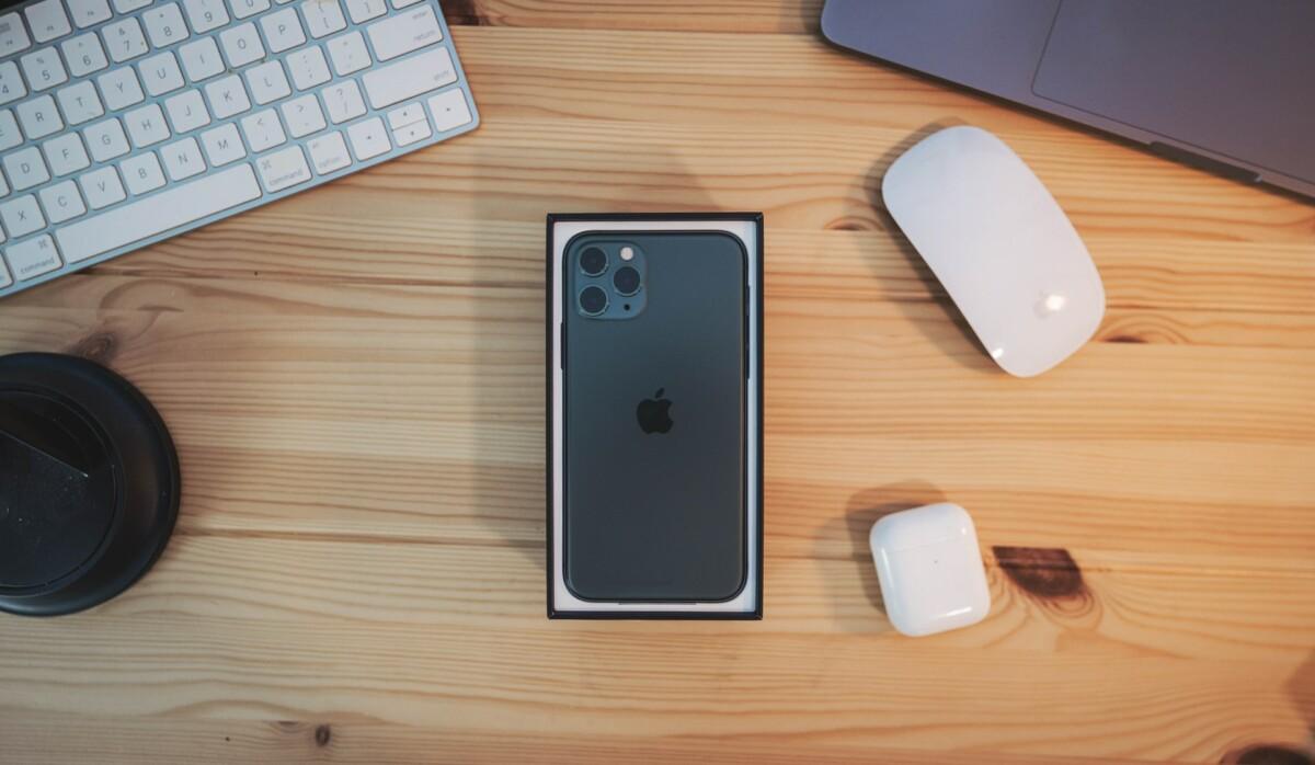 Un iPhone à peine déballé