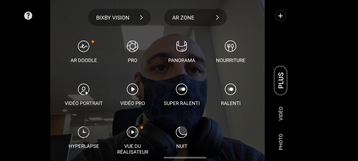 L'interface est entièrement personnalisable