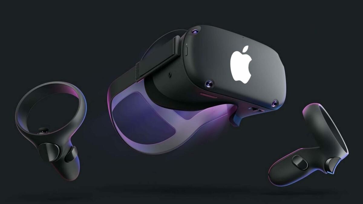 Casque réalité mixte d'Apple