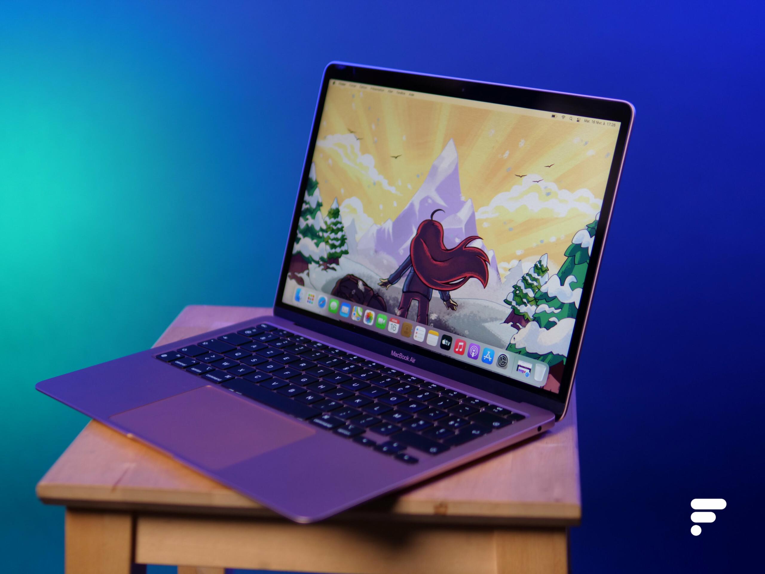 Test Apple MacBook Air 2020 M1 : notre avis complet - PC portables - Frandroid