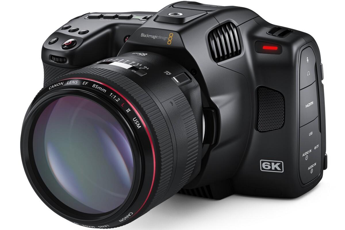 La Blackmagic Cinema Camera 6K Pro