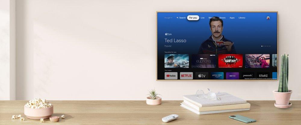 Apple TV+ sur Google TV
