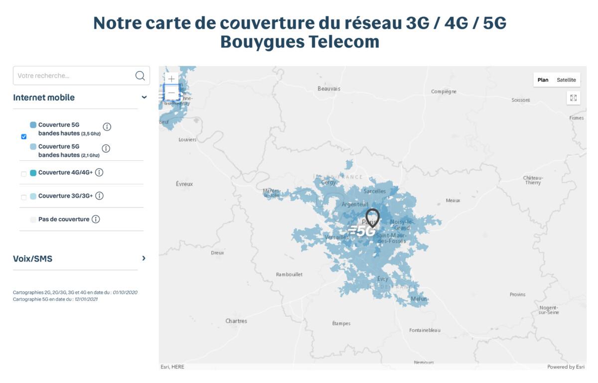 Une fois que la municipalité de Paris aura donné son feu vert, une bonne partie de la région parisienne sera couverte par la 5G