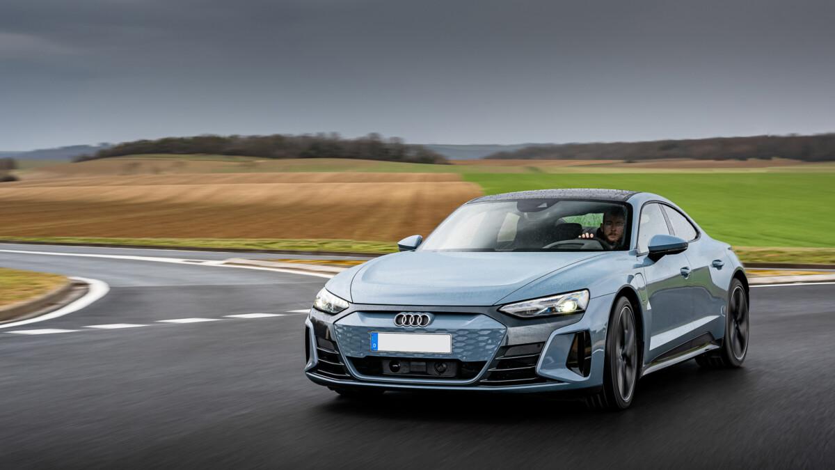 L'Audi e-tron GT quattro