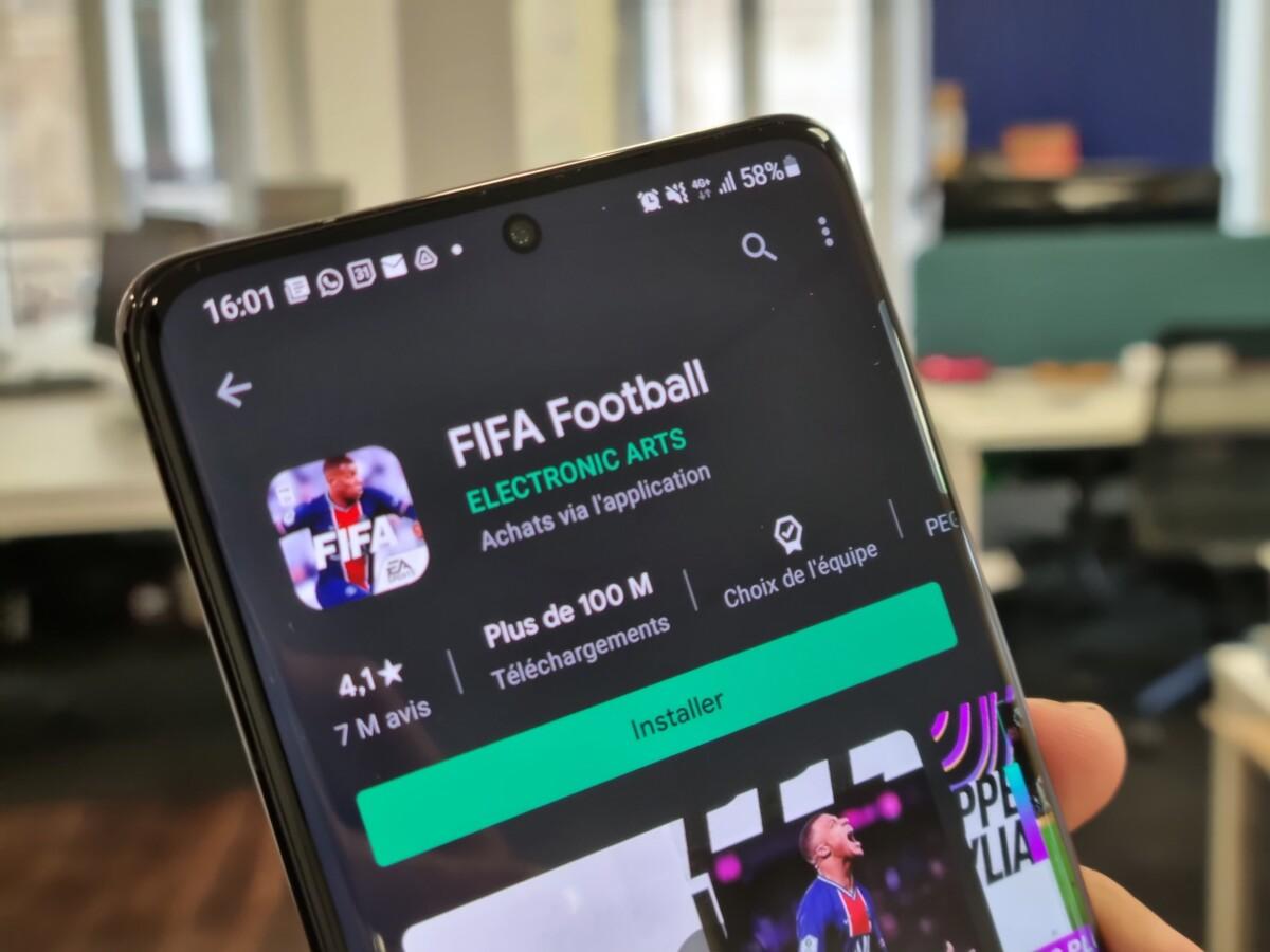 FIFA Football Play Store