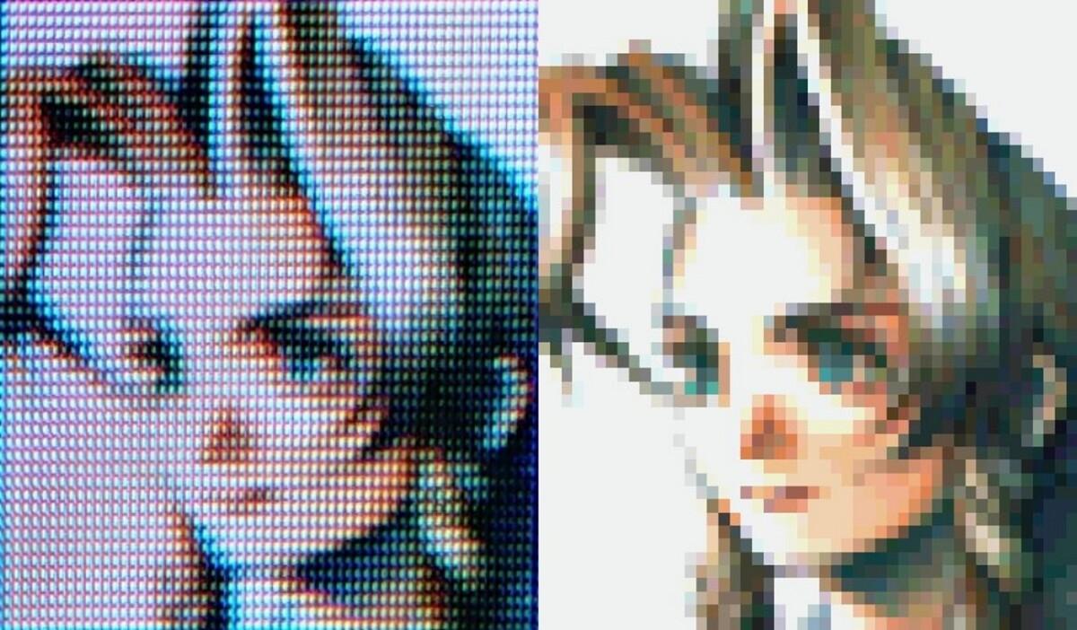 Le visage de Aerith dans Final Fantasy VII peut changer radicalement entre deux écrans