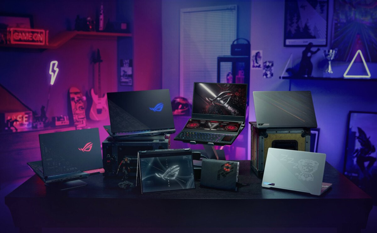 For its new gaming laptops, ASUS shamelessly unveils the frequencies and TGP of each of their graphics cards