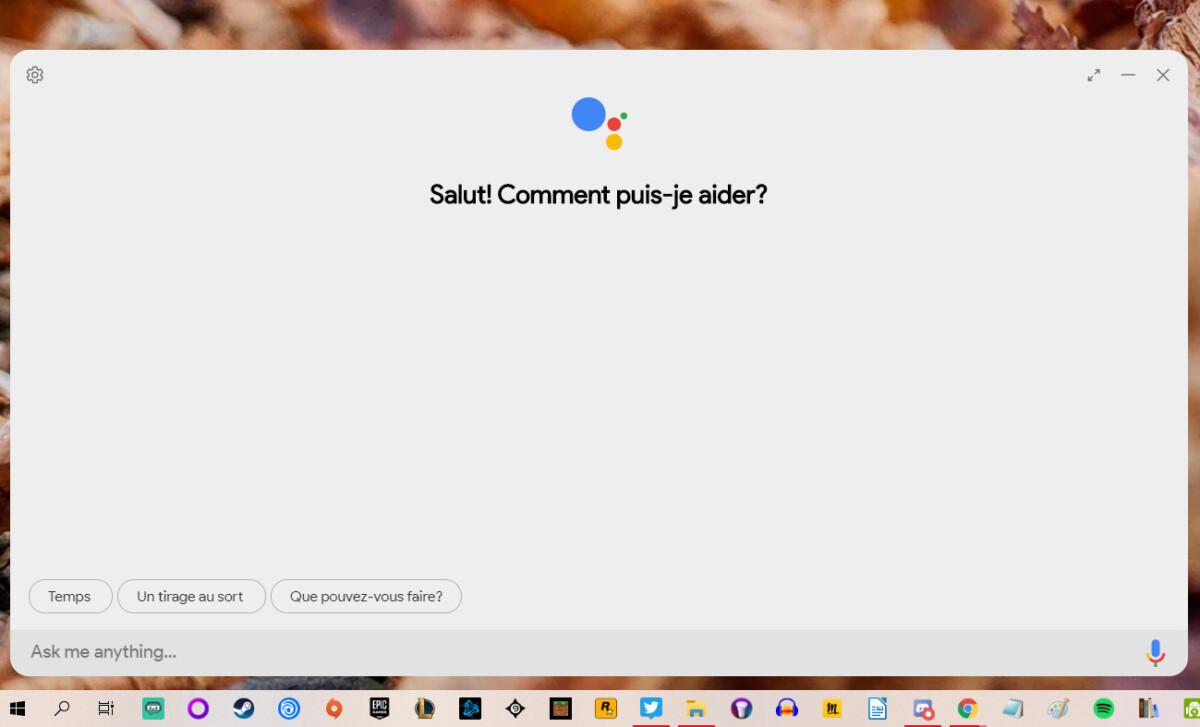 Google Assistant débarque sur Windows, macOS et Linux grâce à un développeur tiers