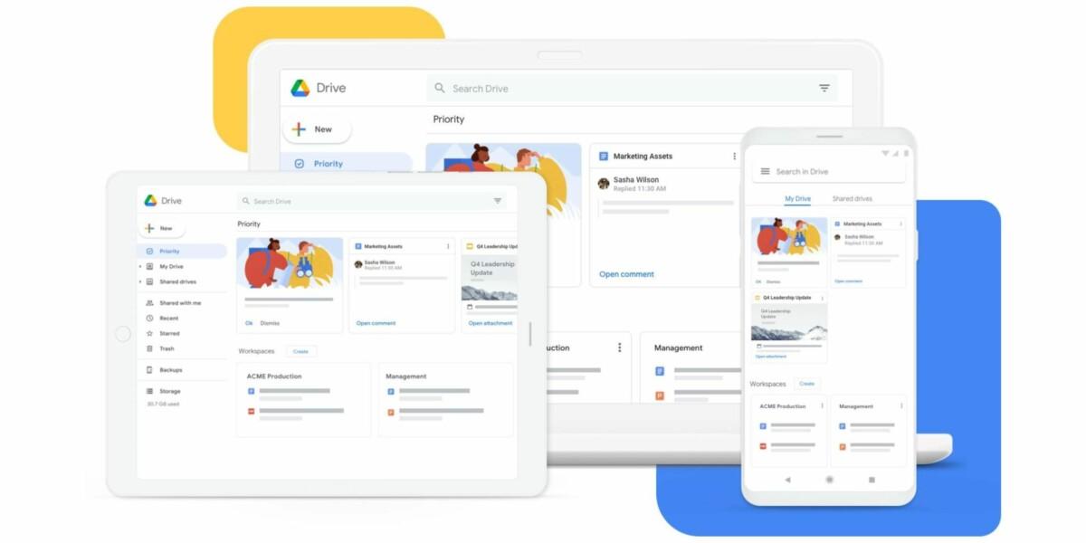 Google Drive for desktop arrive pour remplacer Backup and Sync, qui remplaçait Google Drive