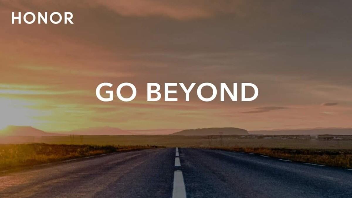 Le nouveau slogan de Honor, « Go Beyond »
