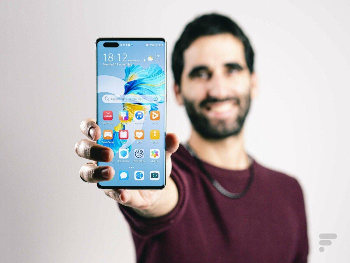 Le Huawei Mate 40 Pro en main