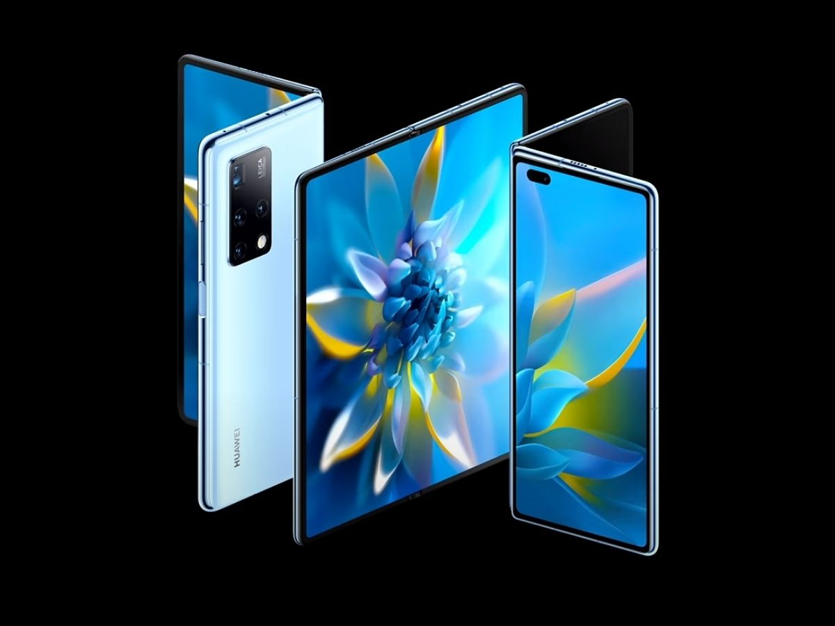 huawei mate x2 une 1200 - Huawei plans to relaunch with three affordable folding smartphones - Frandroid