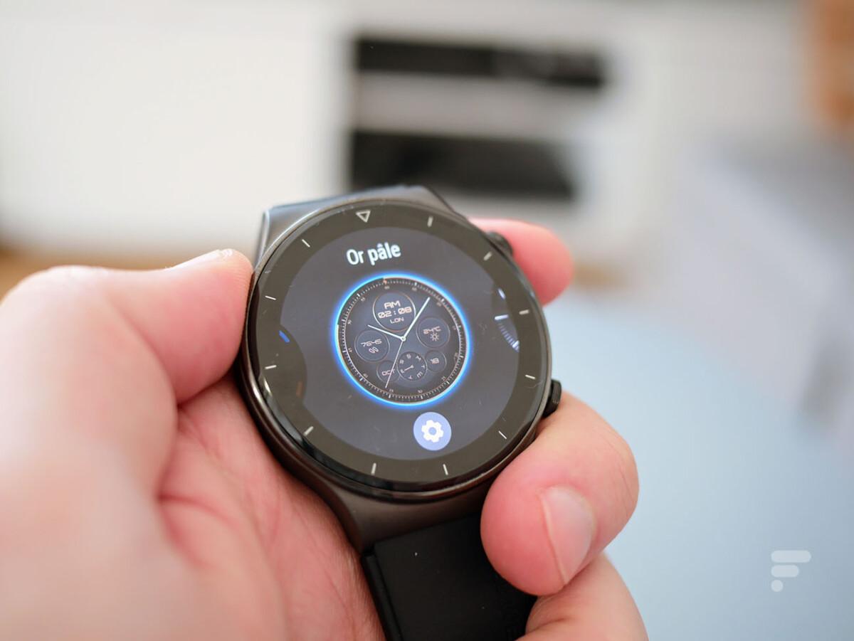 Les cadrans de la Huawei Watch GT 2 Pro