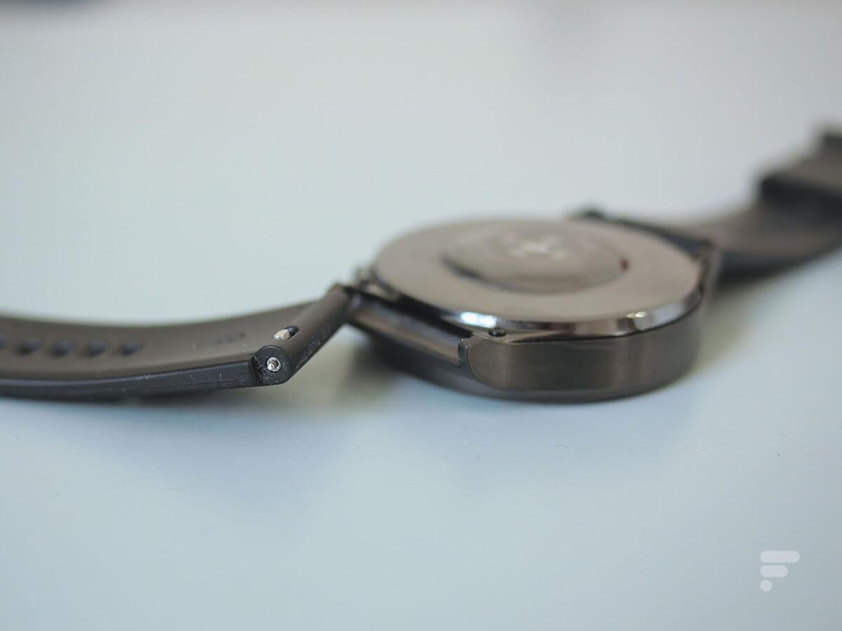 Le bracelet de la Huawei Watch GT 2 Pro peut être changé