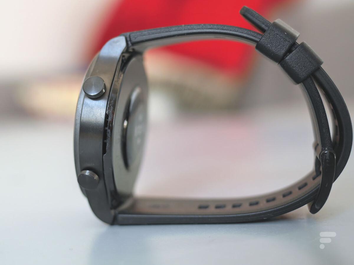 Le haut-parleur de la Huawei Watch GT 2 Pro