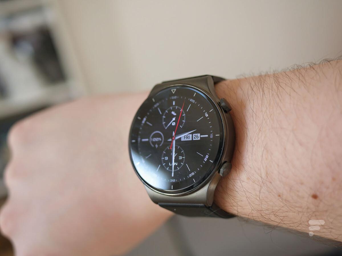 La Huawei Watch GT 2 Pro peut fonctionner une semaine