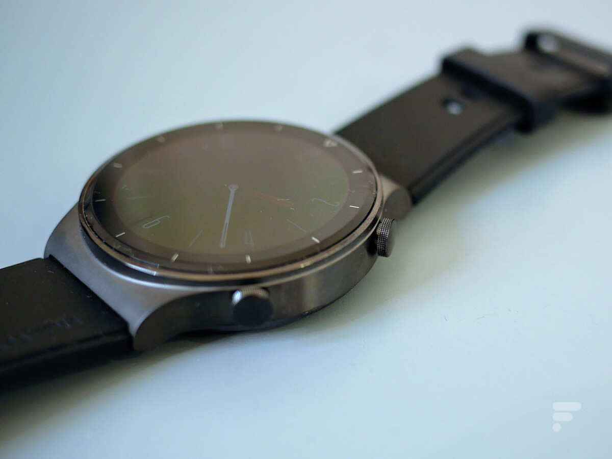 Les boutons de la Huawei Watch GT 2 Pro