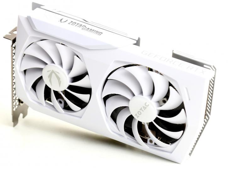 ZOTAC GeForce RTX 3060 AMP White Ed. // source : TheGuru3D