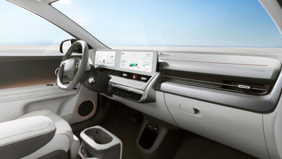 Intérieur de la Hyundai Ioniq 5