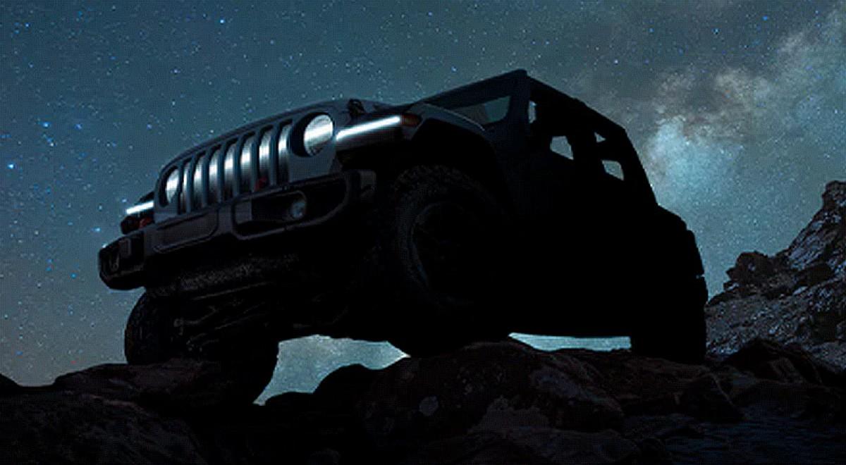Jeep Wrangler électrique