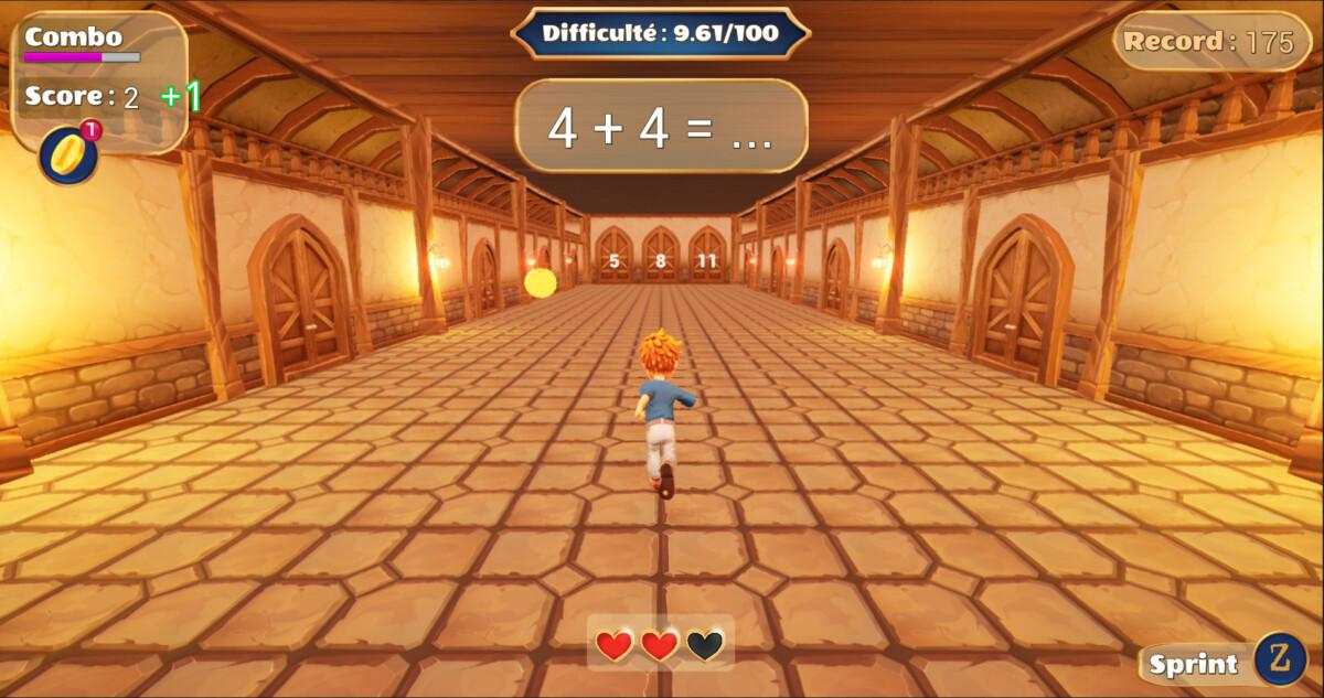 Le jeu des portes pour apprendre à calculer vite