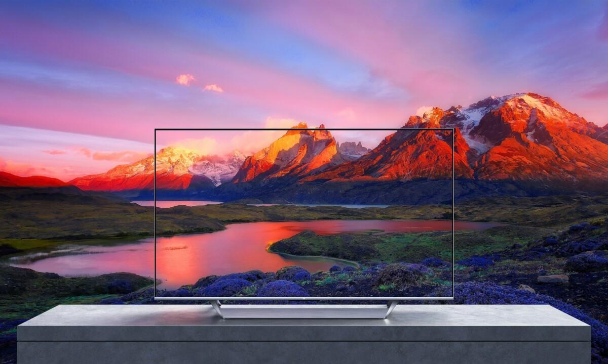 """Design du Xiaomi Mi TV Q1 75"""""""