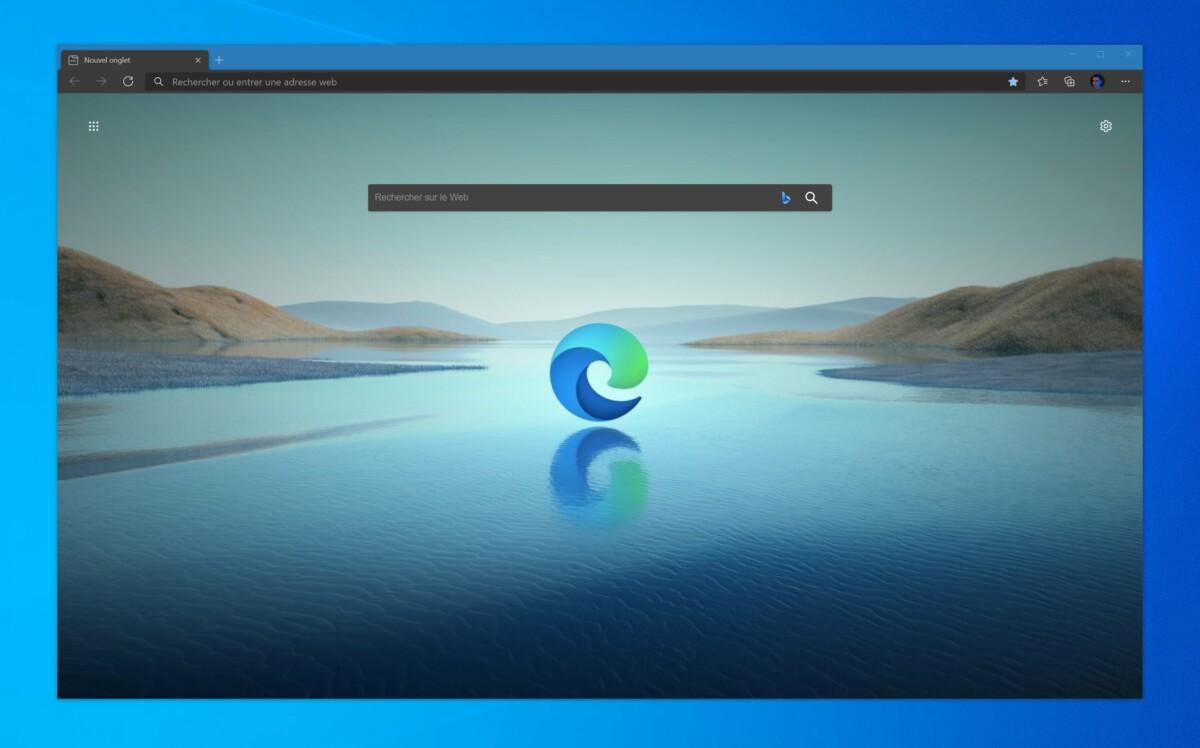 Le navigateur Microsoft Edge