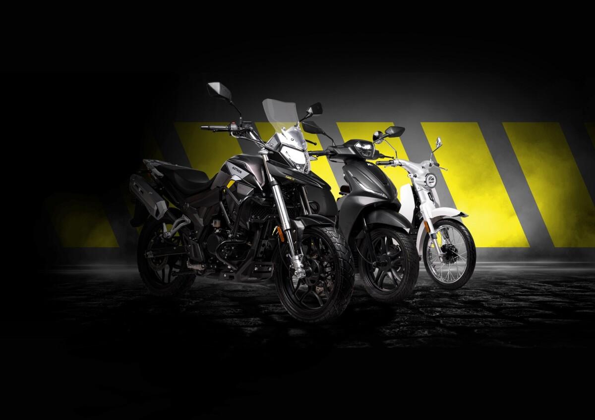 Motrton scooters moto électriques
