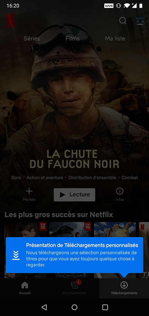 Les téléchargements personnalisés sont désormais proposés sur Netflix