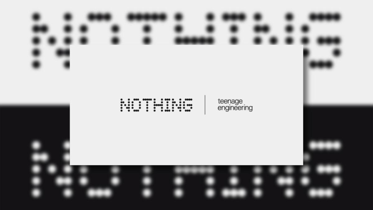 Partenariat Nothing x Teenage Engineering