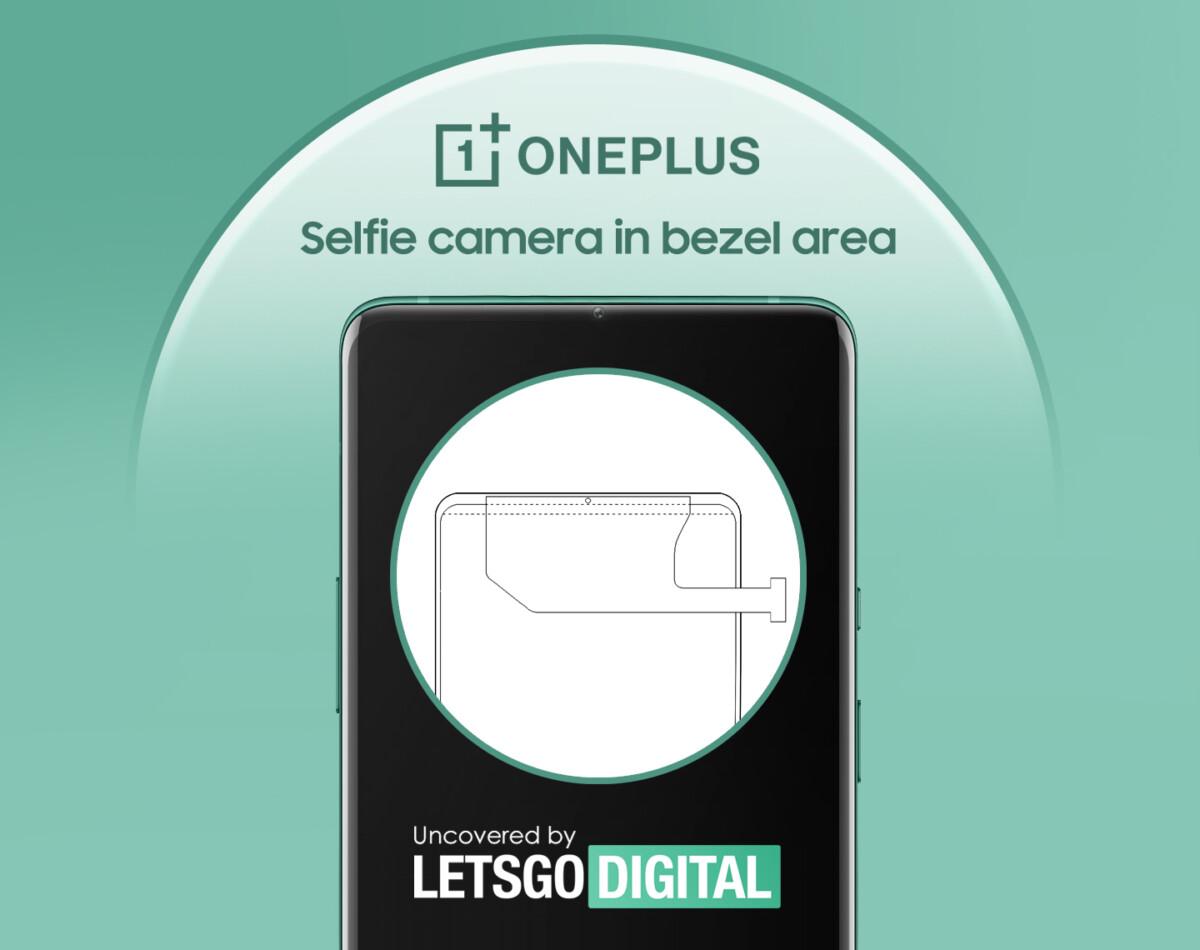 Illustration du brevet de OnePlus