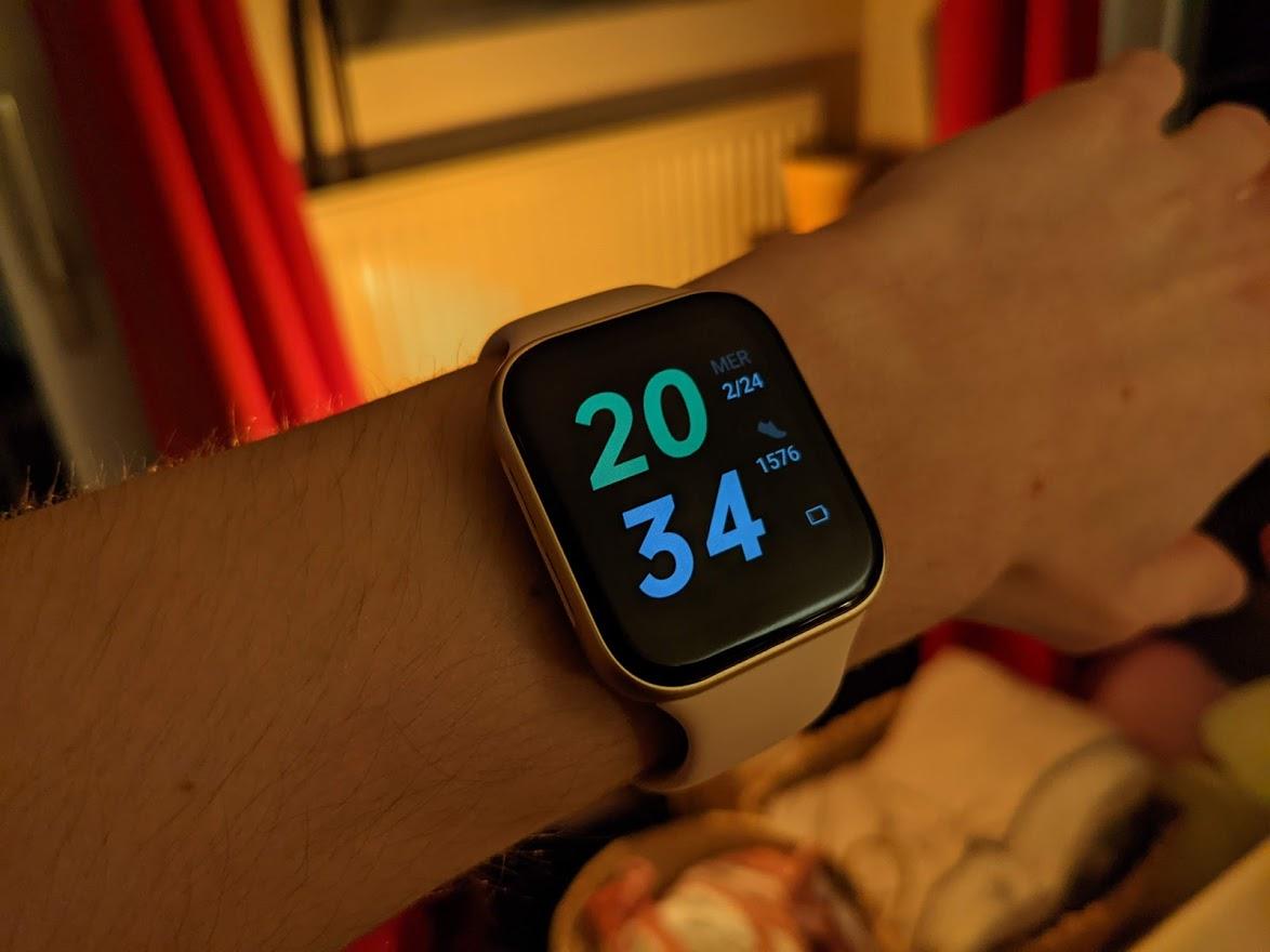 Le mode économie d'énergie de l'Oppo Watch