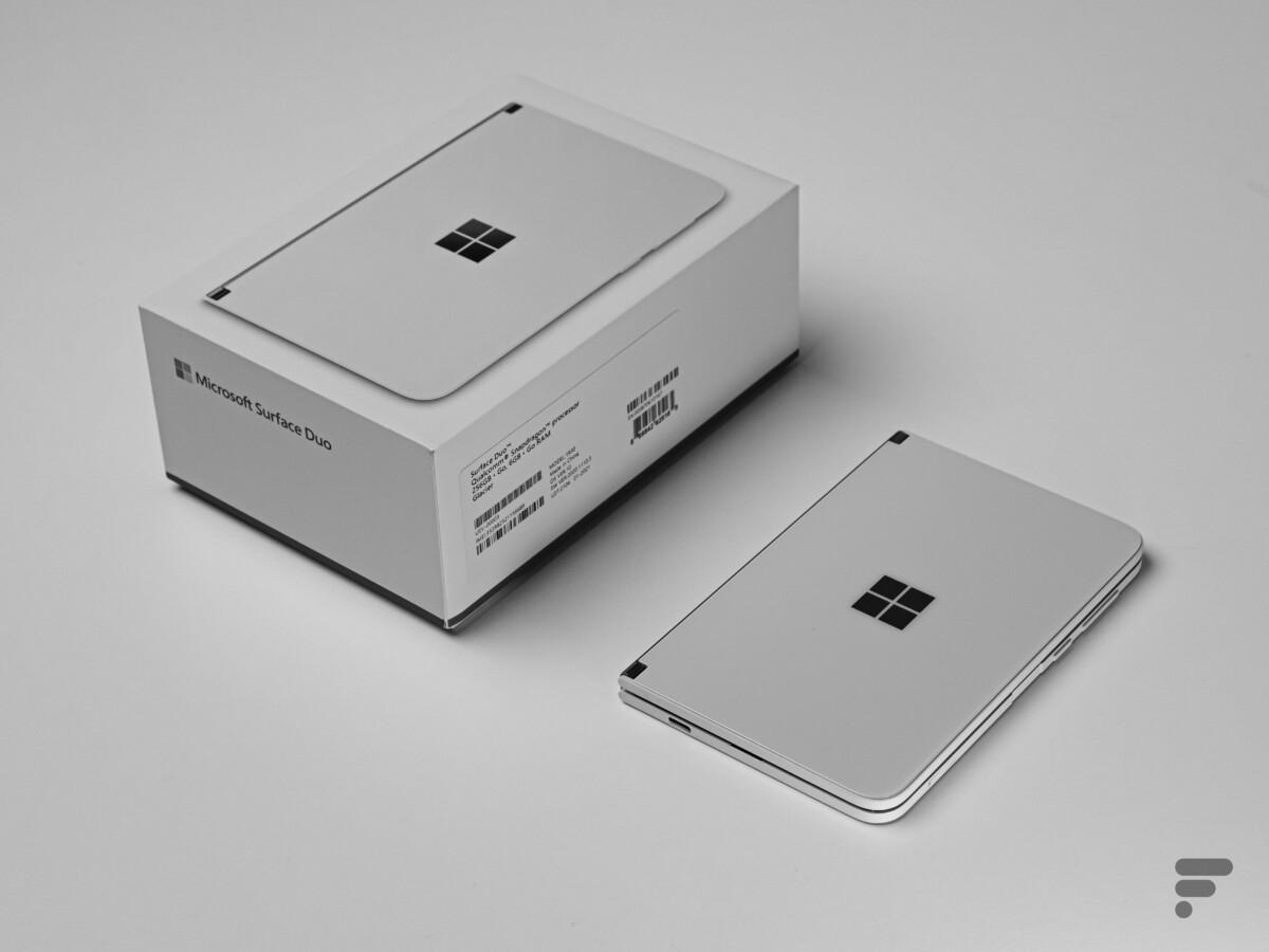Le Surface Duo de Microsoft