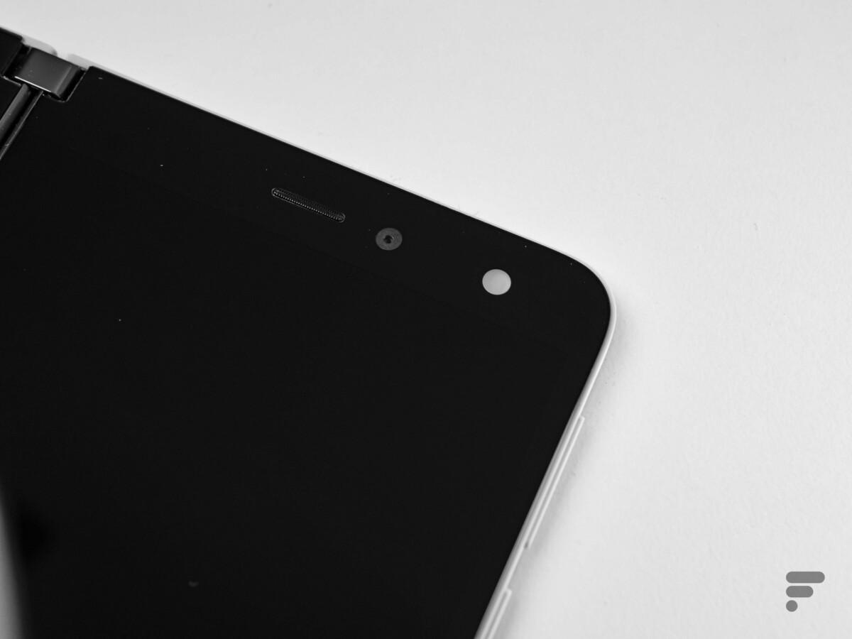 L'appareil photo du Surface Duo est unique et sert pour les selfies comme les photos classiques