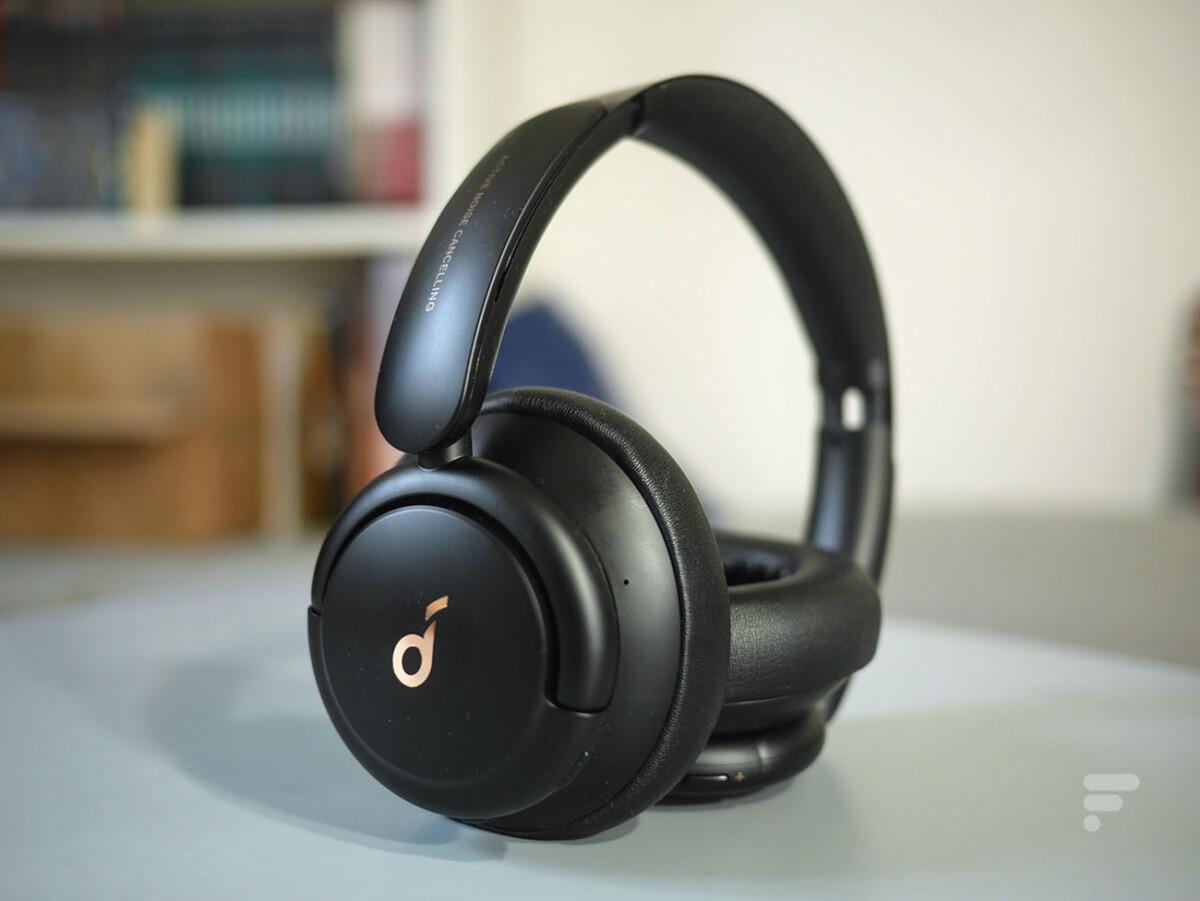Le casque Soundcore LifeQ30 d'Anker//Source: Frandroid