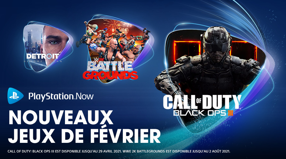 Le programme de février 2021 du PlayStation Now
