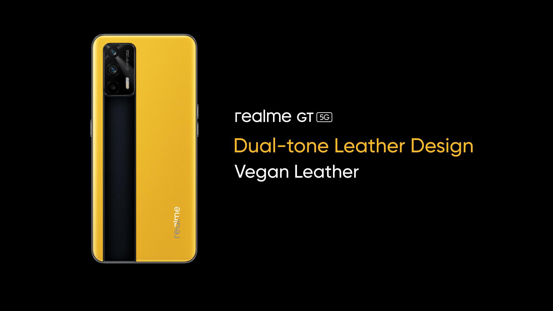 Realme GT officialisé : un Snapdragon 888 sous le capot et du cuir végan sur le dos - Frandroid