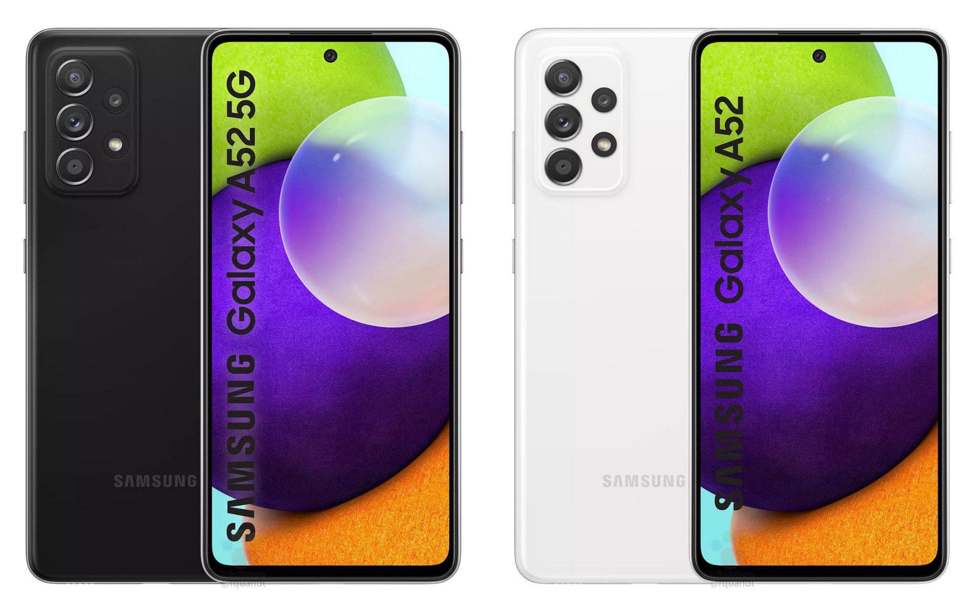 Samsung Galaxy A52 : design, prix, caractéristiques, une fuite dévoile tout du futur best-seller - Frandroid