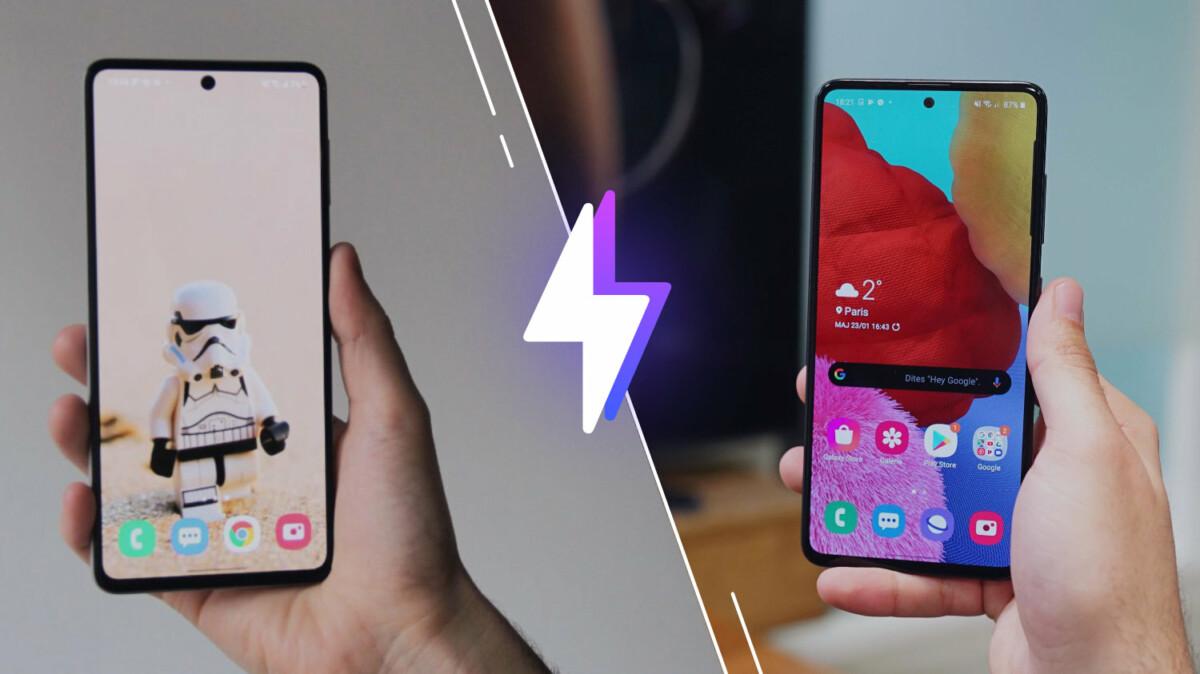 Samsung Galaxy M51 vs Galaxy A51
