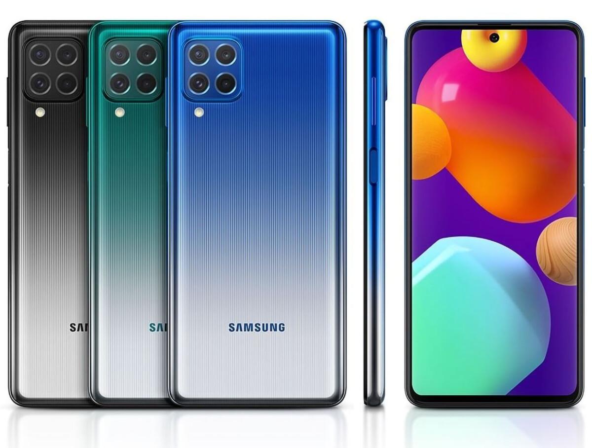 Le Samsung Galaxy M62
