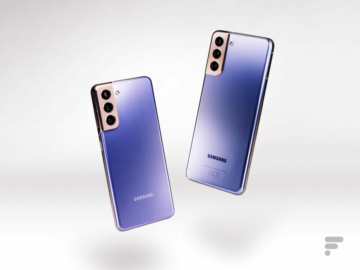 Samsung Galaxy S21 et S21+