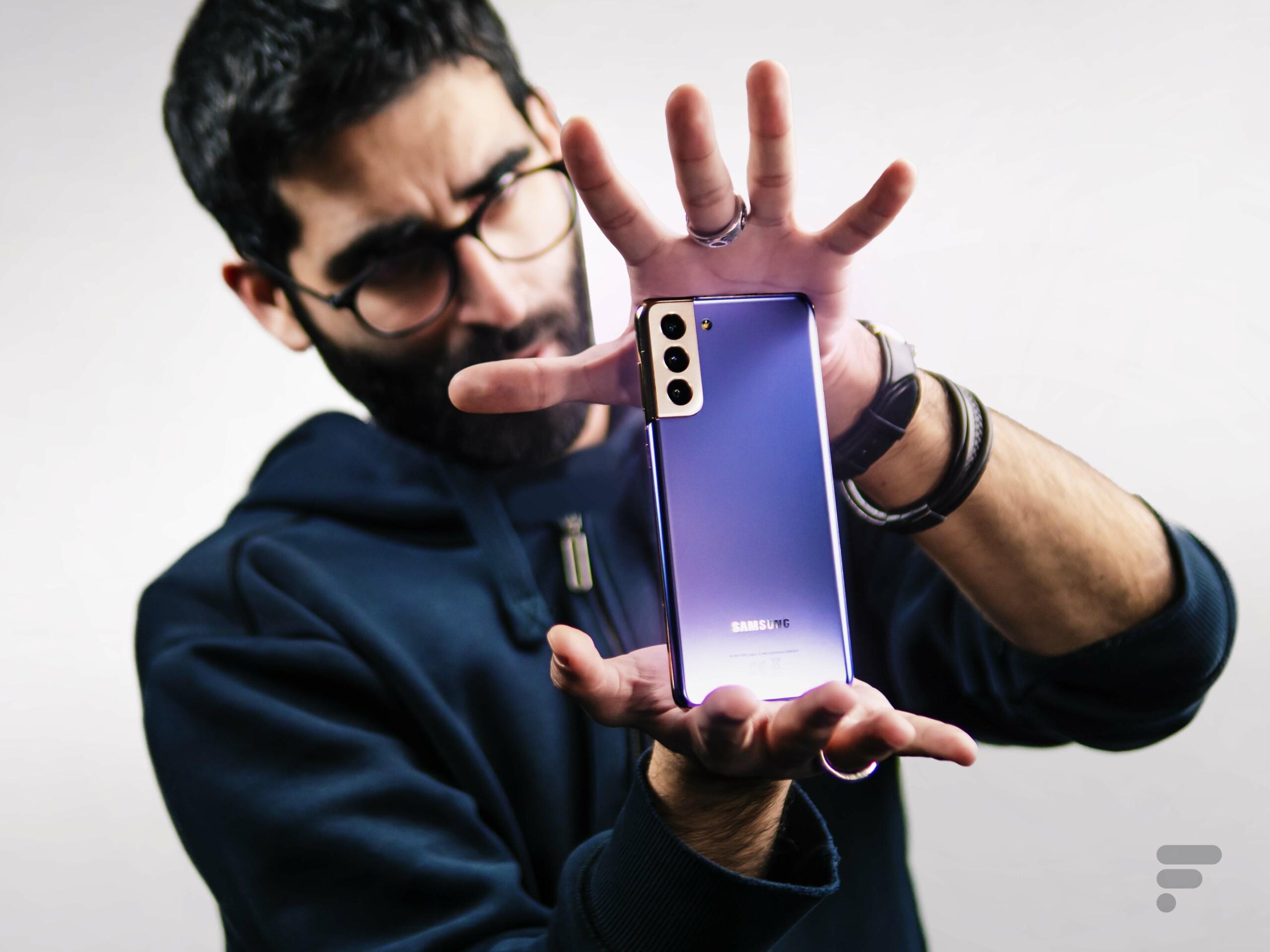 Test Samsung Galaxy S21 Plus : notre avis complet - Smartphones - Frandroid