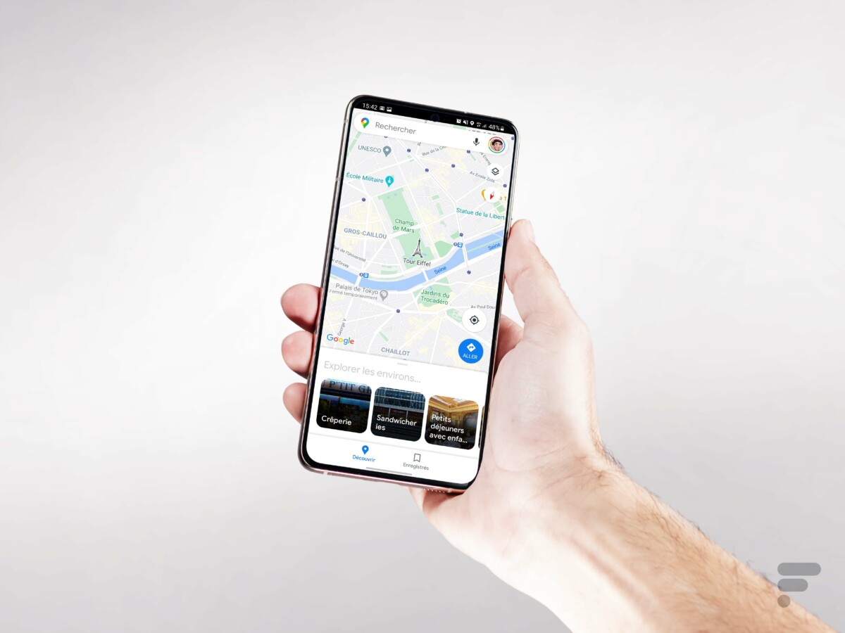 Samsung Galaxy S21 Plus en main