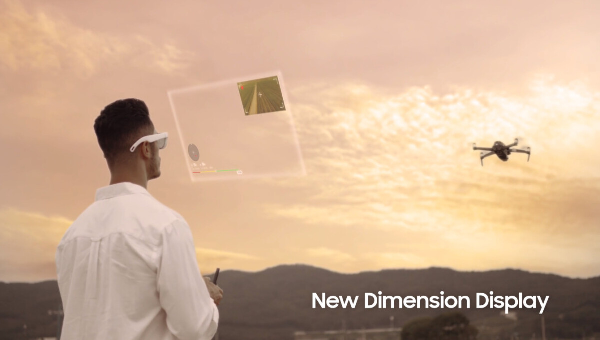Samsung augmented reality glasses