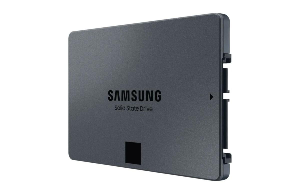 Bon prix pour le SSD Samsung 870 QVO d'une capacité de 1 To (-24 %)