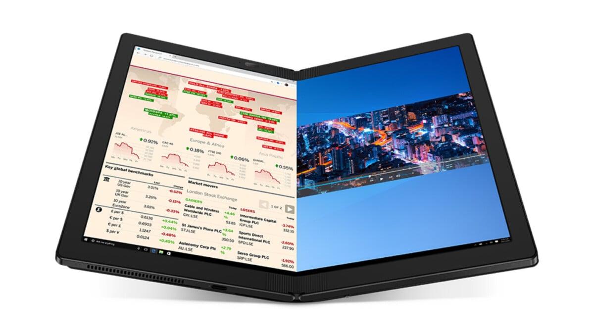 Lenovo ThinkPadX1 Fold: et si c'était le futur des PC portables avec son écran pliable?