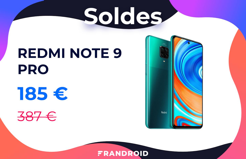 Le Redmi Note 9 Pro est désormais à moins de 200 euros - Frandroid