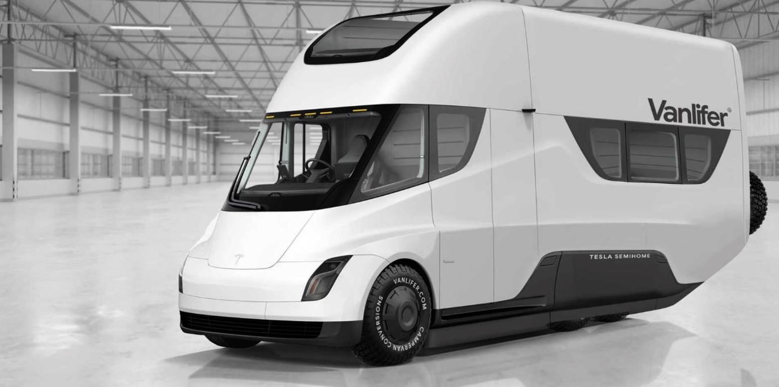 Et si Tesla lançait un van électrique équipé d'un panneau solaire? La piste n'est pas exclue…