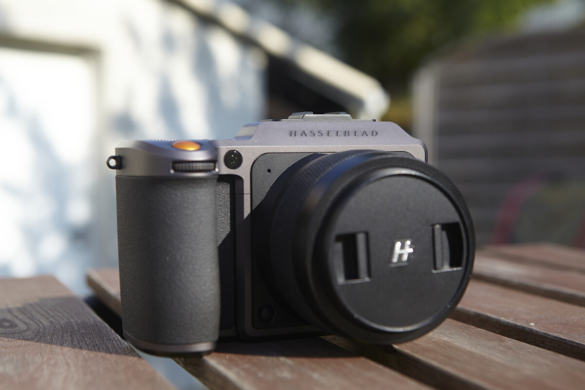 The front of the Hasselblad X1D II-50C